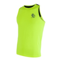 SENSOR COOLMAX FRESH PT HAND pánské triko bez rukávů reflex žlutá/černá -S