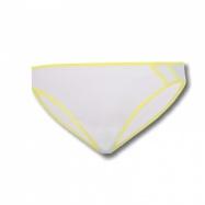 SENSOR LISSA kalhotky bílá/žlutá
