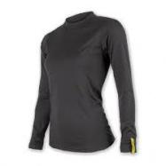 SENSOR Multisport dámské triko dlouhý rukáv černá