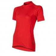 SENSOR DOUBLE FACE dámské triko kr.rukáv červená