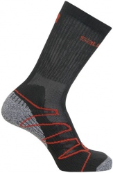 ponožky Salomon Eskape black/autobahn/dynamic