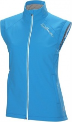 vesta Salomon Momentum II Softshell W procesblue/white