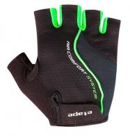 Etape - pánské rukavice DRIFT, černá/zelená