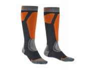 Bridgedale Ski Easy On gunmetal/orange/037