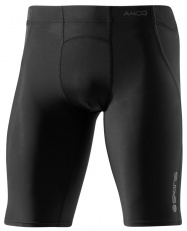 SKINS A400 Mens Black/Charcoal 1/2 Tights