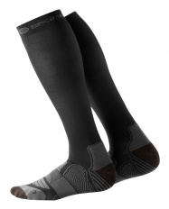 SKINS Essentials Mens Comp Socks Active Black/Pewter