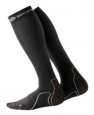 SKINS Essentials Mens Comp Socks Recovery Black