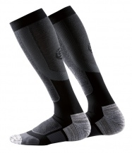 SKINS Essentials Mens Comp Socks Active Thermal Black/Pewter