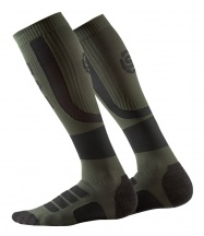 SKINS Essentials Mens Performance Compression Socks Black/Utility