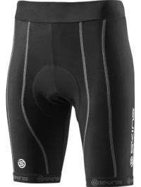 SKINS Cycle PRO Womens Black/Silver Shorts FS