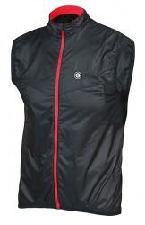 Etape - pánská vesta Mistral, černá/červená