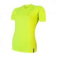 SENSOR COOLMAX TECH dámské triko kr.rukáv reflex žlutá
