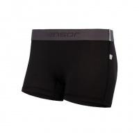 SENSOR COOLMAX TECH dámské kalhotky s nohavičkou černá -L