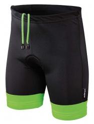 Etape - dětské kalhoty Junior s vložkou, černá/zelená