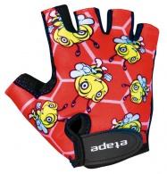 Etape - dětské rukavice Tiny, červená