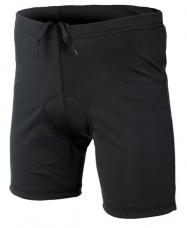Etape - dětské kalhoty Junior s vložkou, černá