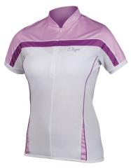 Etape - dámský dres Roxy, bílá/fialová