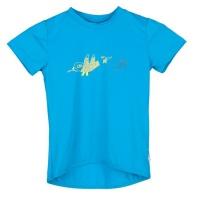 SENSOR PT COOLMAX FRESH Birds dětské triko kr.rukáv modrá -120