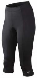 Etape - dámské kalhoty Lady 3/4 s vložkou, černá