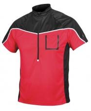 Etape - pánský volný dres Polo, červená/černá