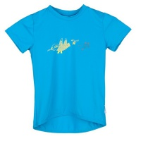SENSOR PT COOLMAX FRESH Birds dětské triko kr.rukáv modrá
