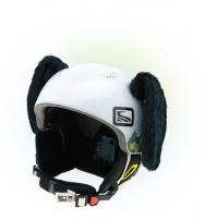 Crazy Uši ozdoba na helmu - PES černý