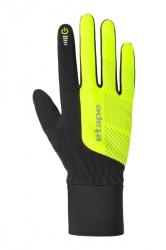 Etape - rukavice Skin WS+ černá/žlutá fluo