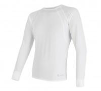 SENSOR COOLMAX AIR pánské triko dl.rukáv bílá -M