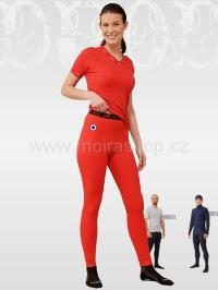 MOIRA DUO dámské spodky s dlouhou nohavicí doprodej červená