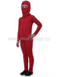 MOIRA DUO dětské dlouhé nohavice 130-160 červená