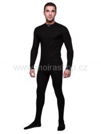 MOIRA DUO spodky s dlouhou nohavicí černá