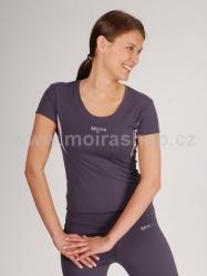 MOIRA FITNESS Swarowski dámské triko krátký rukáv 2