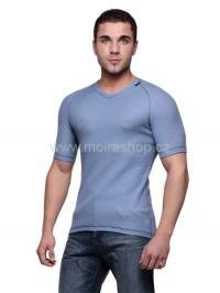 MOIRA DUO triko s krátkým rukávem ocelová