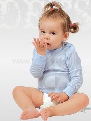 MOIRA MONO kojenecké triko dlouhý rukáv
