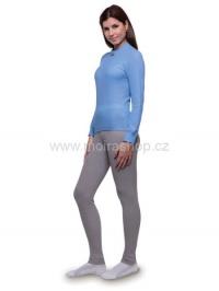 MOIRA MONO spodky dámské dlouhá nohavice šedá