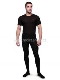 MOIRA MONO spodky s dlouhou nohavicí černá