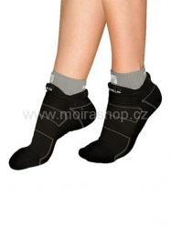 MOIRA ponožky BĚH černá