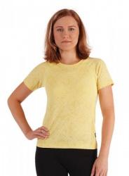 MOIRA SOFT dámské triko krátký rukáv DKR2 žlutá