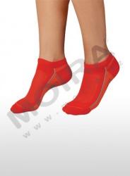 MOIRA ponožky SHORT B červená