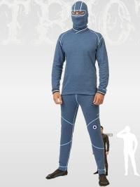 MOIRA TRIO spodky dlouhá nohavice modrá
