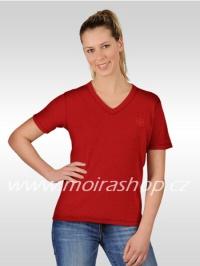 MOIRA Wool dámské triko krátký rukáv