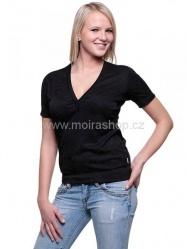 MOIRA SOFT dámské triko krátký rukáv DKR5 černá
