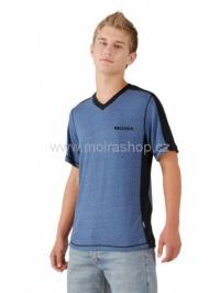 MOIRA SOFT KR5 pánské triko krátký rukáv denim
