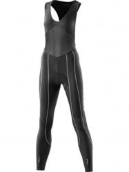 Skins Cyklo Pro dámské kompresní kalhoty dlouhé s laclem