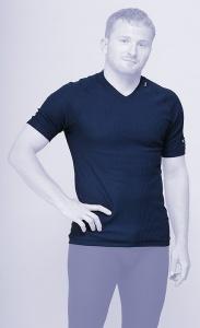 MOIRA DUO triko s krátkým rukávem modrá
