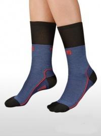 MOIRA ponožky TG2 modro červené
