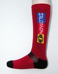 ponožky Salomon Elios červené