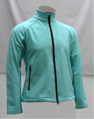 bunda BJ Softshell W blue