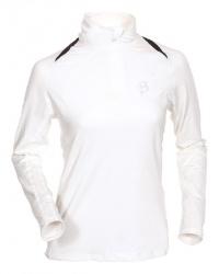 triko BJ Function Lady 1/2 zip white