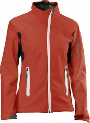bunda Salomon Active Softshell W red